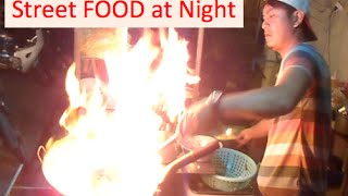 Fried Noodle and Fried Rice the Phnom Penh Foods at Night | Cambodia Street Food at night