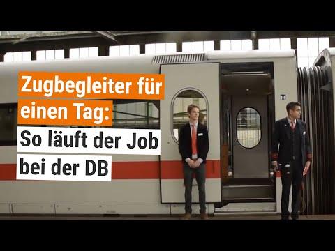 Berufe-Check Deutsche Bahn: Ein Tag als Zugbegleiter im ICE