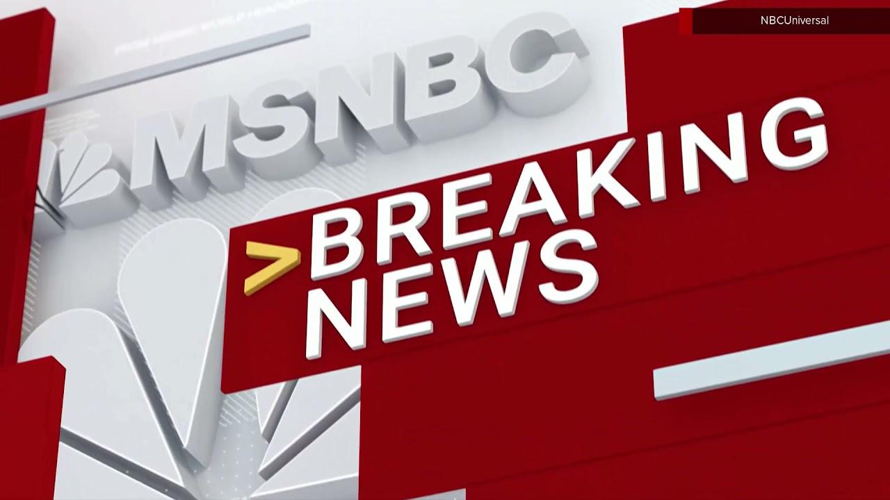 MSNBC breaking news stinger