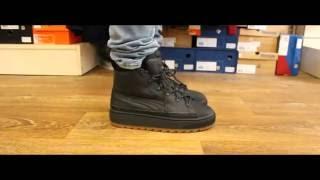 Clancy Confidencial estático  Review   Puma The Ren Boot Black - YouTube