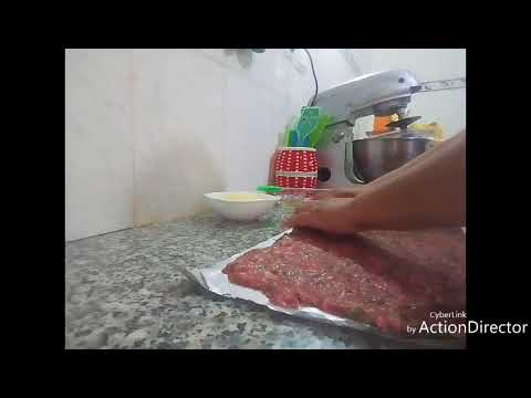 viande-hache-roule-au-fromage👍👍