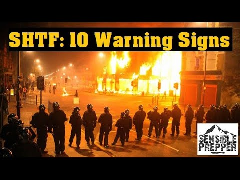 Download 10 Warning Signs SHTF is Coming
