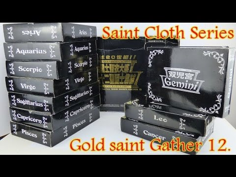 Saint Seiya Series - Gold Saint Gather 12 - Vintage Limited Black Box 2K Edition.