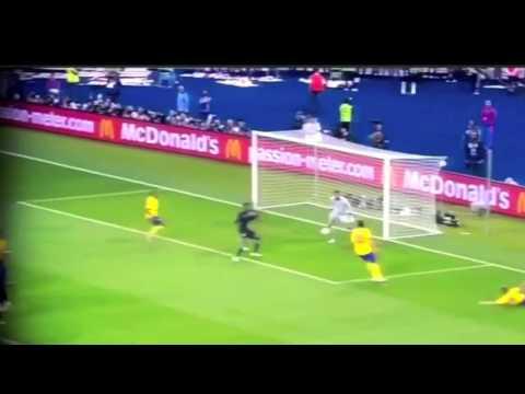 Danny Welbeck Golazo - England 3-2 Sweden Euro 2012