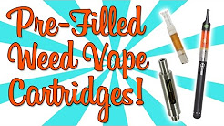 ARE PRE-FILLED WEED VAPE CARTRIDGES WORTH IT??