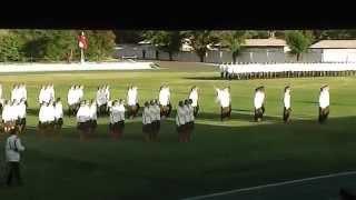Escuela de Carabineros de Chile 2014-juramento de servicio (AMARO)