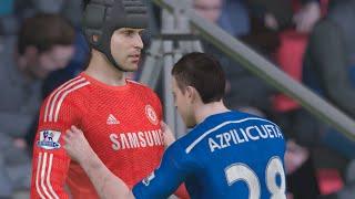 FIFA 15 Demo Gameplay (Xbox One): Chelsea vs FC Barcelona (Snow Conditions)