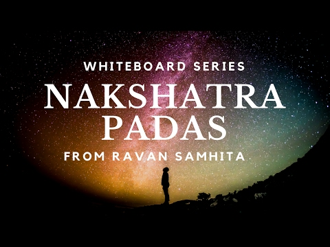 Whiteboard: Nakshatra Padas from Ravana Samhita - Part 1/3 by SueAnn McKean