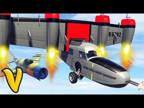 GTA V SMUGGLERS RUN ALL VEHICLES! GTA 5 Smugglers Run Gameplay