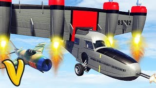 GTA V SMUGGLERS RUN ALL VEHICLES! GTA 5 Smugglers Run Gameplay