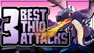TOP 3 TH10 ATTACK STRATEGIES | MY FAVORITE EVER DRAGON ATTACK | Clash of Clans