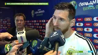 Especial de Planeta Gol: Messi quejándose de los arbitrajes en la Selección