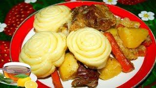 Рецепт приготовления штруделей с мясом и картошкой