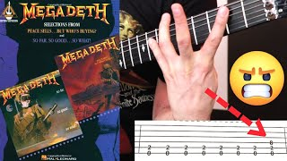 Learning Megadeth's PEACE SELLS From This BAD-TAB Book is the WORST!