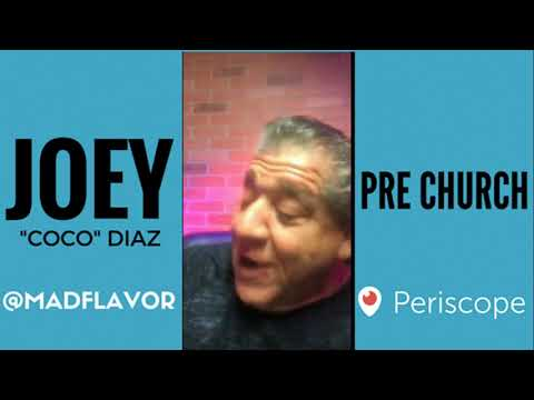 The Church Of What's Happening Now Pre Show: #525 - Joey Diaz and Lee Syatt with Cassius Morris