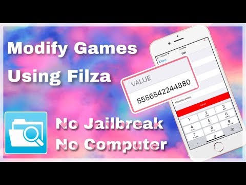 How To Modify Games With Filza IOS 12 - 12.1.2 2019