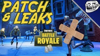 Fortnite Patch & Leaks: BRUTE Tweaks, Retail Row Returns, Leaked Challenges & Skins!!!