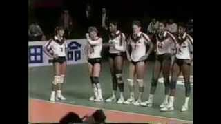 1987 Japan Cup Volleyball USA vs China