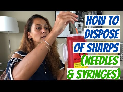 How To Dispose Of Sharps (Needles & Syringes)