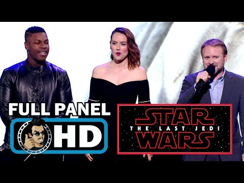 Download Youtube: STAR WARS: THE LAST JEDI Full D23 Expo Cast Panel (2017)