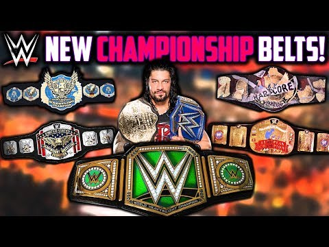New WWE Title Belts In 2018: Do We Need It?