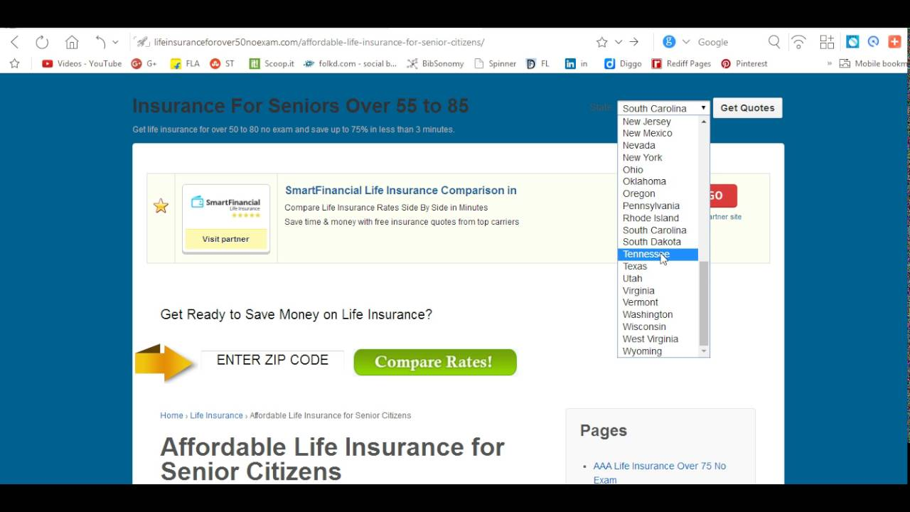 Life Insurance Quotes For Seniors Over 80 Affordable Life Insurance For 50 And Over  Raipurnews