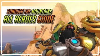 How to climb the mountains in overwatch - workshop game mode guide