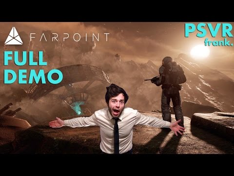 Farpoint VR Gameplay Demo - PAX East 2017 (full demo)