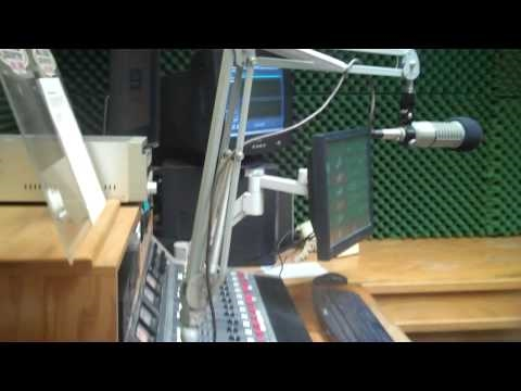 CALS inSide HOT 104.7 Modesto Radio Station - JiMRock Behind the scenes