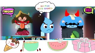 Fun Kitchen Cooking Kids Game - Toca Boca Kitchen - Fun Game