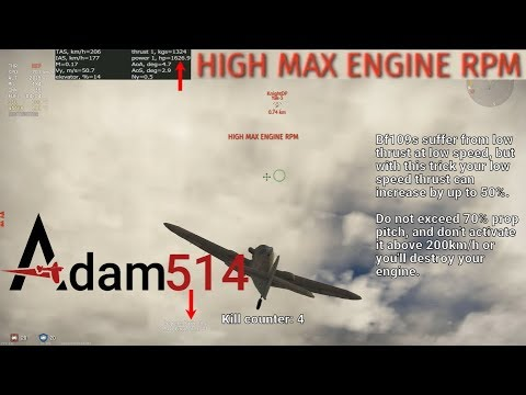 War Thunder Bf109G14AS | Dogfighting Russians With Bf109 Tricks