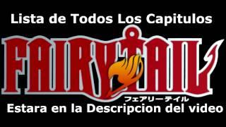 Fairy Tail Pelicula La Sacerdotista del Fenix + Lista de Capitulos :D