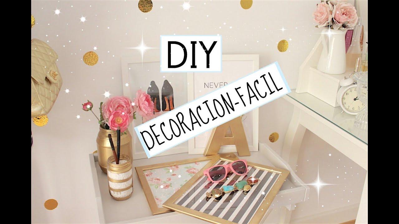 diy decoracion economico y sencillo youtube