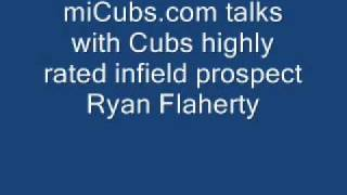 Chicago Cubs prospect Ryan Flaherty - Audio Podcast