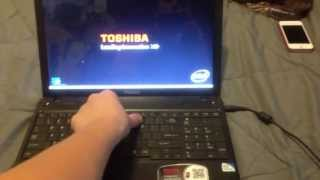 How to Reset Toshiba Satellite Laptop to Factory Settings thumbnail