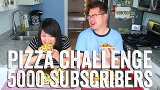 Pizza Challenge : Celebrating 5000 Subscribers!