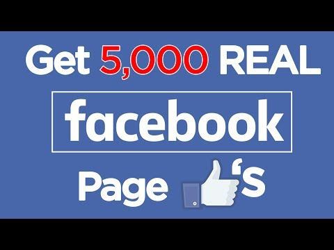 Get 5000 Facebook Page Likes in 1 DAY | 2017 Facebook Followers