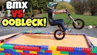 BMX vs OOBLECK Challenge! **We Sink!!**
