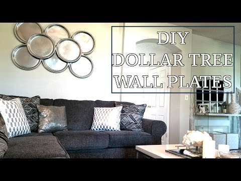 DIY Wall Plates | Dollar Tree Wall Decor