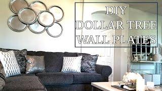 DIY Wall plates   Dollar Tree Wall Decor