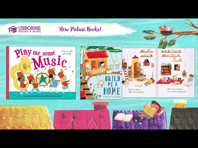 Fall 2018 New Titles- New Picture Books From Usborne Books & More!