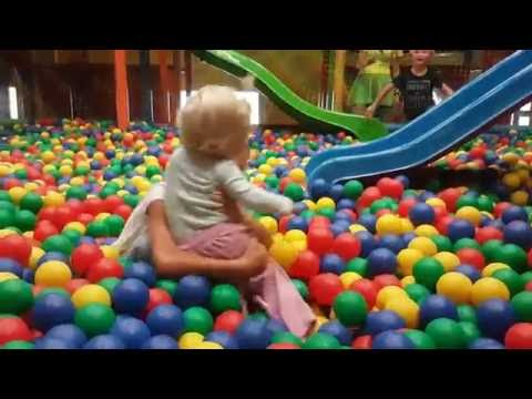 Indoor Playground Fun Play Place for Kids play center ball and Ball Pit Fun play room, Figloraj