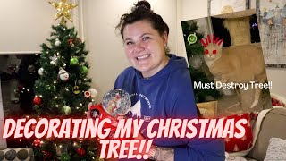 DECORATE WITH ME! CHRISTMAS 2020 | Hopefully my cats don't destroy my Christmas Tree.