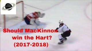 Nathan MacKinnon season highlights   2017-2018   Should he win the Hart?   League MVP?   NHL