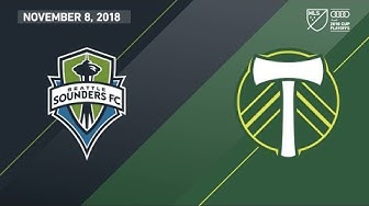 HIGHLIGHTS: Seattle Sounders FC vs. Portland Timbers   November 8, 2018