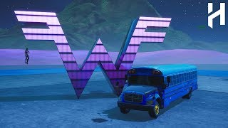 How to get the BATTLE BUS into your CREATIVE ISLAND! - Fortnite Battle Royal Glitches