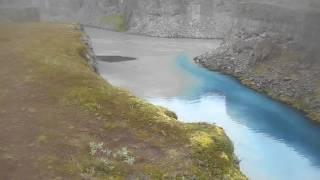 Cañón de Hafragil   Hafragilfoss
