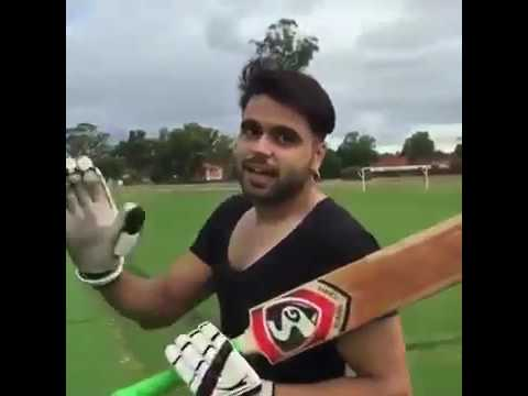 First Time Punjabi Singers play Cricket Match