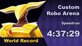 Custom Robo Arena speedrun in 4:37:29 (live)