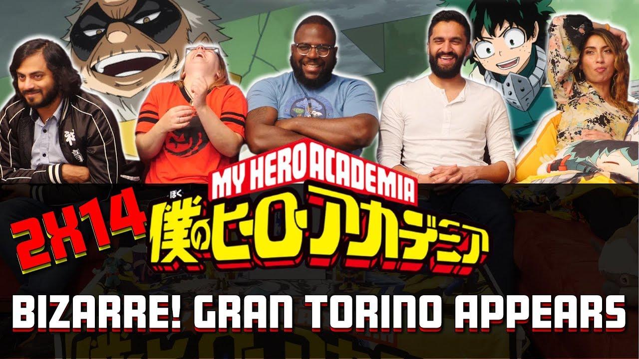 Download My Hero Academia - 2x14 Bizarre! Gran Torino Appears - Group Reaction